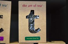 Beautiful simple packaging #tea