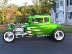 Afternoon Drive: Hot Rods & Rat Rods Photos) A hot rod is a specific type of automobile that has been modified to produce more power for racing straight ahead. The hot rod originated in the early. Hot Rods, Classic Hot Rod, Classic Cars, Vintage Cars, Antique Cars, Us Cars, Street Rods, Ford Models, Custom Cars