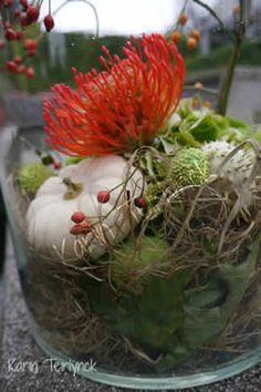 Herfstboeket maken: zelf bloemschikken met sierfruit