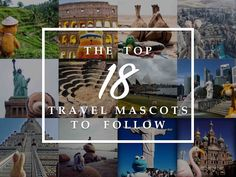 The top travel mascots/travel toys to follow Travel Toys, His Travel, Number Of Countries, Future Travel, Instagram Accounts, Trip Planning, Tours, Japan, How To Plan