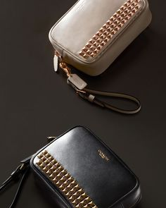 LEGACY FLIGHT WRISTLET IN STUDDED LEATHER Fashion Accessories | Shop new fashion accessories from Coach