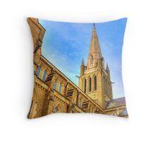 Up Close at the Sacred Heart Cathedral - Bendigo, Victoria Throw Pillow