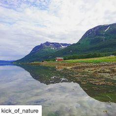 The beautiful north. #reiseliv #reisetips #reiseblogger #reiseråd  #Repost @kick_of_nature (@get_repost)  Have a wonderfull weekend everyone everywhere  Troms in nothern Norway
