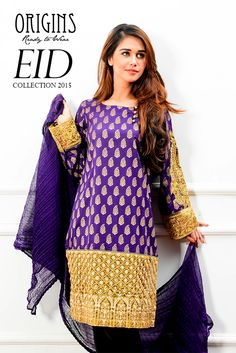 The Origins Ready to Wear Eid-UL-Azha Collection 2015 for Girls