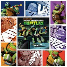 TMNT 2012 Collage