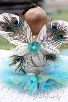 Peacock Halloween Costume Tutu Cute Peacock by wrenandribbon