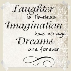 Laughter Is Timeless - Beautiful Wall Decals