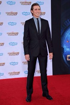 Actor Lee Pace attends the world premiere of Marvel's Guardians of the Galaxy | Hollywood, July 21, 2014.