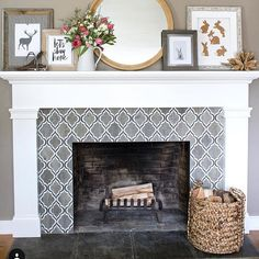 62 Best Tile Fireplace Surround Images Fireplace Mantel