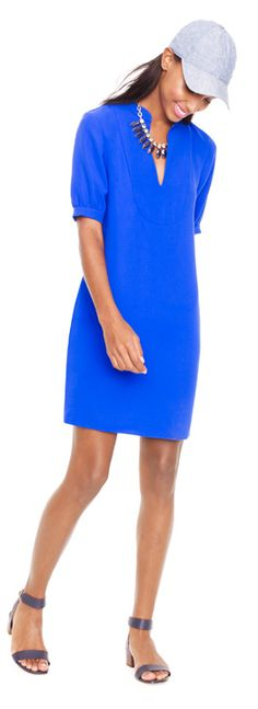 Perfect blue at @J.Crew #jcrew Political Style