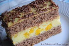 Ciasto pianka cytrynowa   kruche babeczki Polish Recipes, Polish Food, Cake Bars, Food Cakes, Vanilla Cake, Banana Bread, Ale, Cake Recipes, Cheesecake