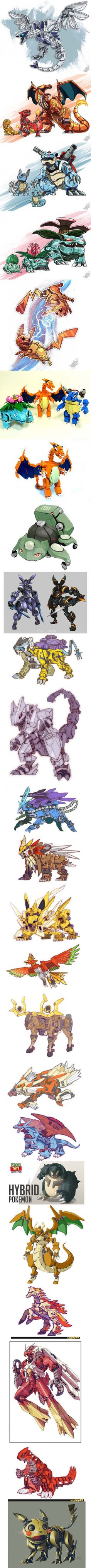 Pokemon as mecha