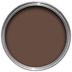 Colours Pain Au Chocolat Matt Emulsion Paint 2.5L | Departments | DIY at B&Q