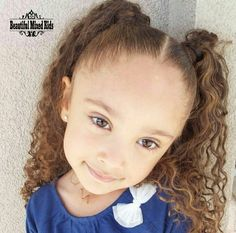 Makayla - 4 Years • African American & Caucasian ❤ FOLLOW @beautifulmixedkids on instagram