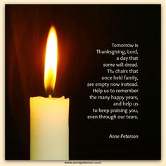 grief, loved ones, Thanksgiving, Anne Peterson, poetry  www.annepeterson.com