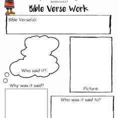 Free Bible Activities for Kids | Worksheets, Quizzes, Puzzles & Coloring Pages