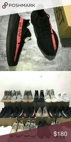 official photos 5e3a4 9429a Adidas yeezy sply 350 v2 bred BY9612 Unisex Size   5-12.5  Color