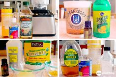 Make Your Own Homemade Facial Cleansers . . . {4} All-Natural Recipes! - One Good Thing by Jillee