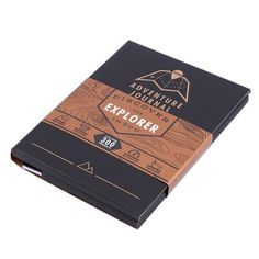 Chronicle your adventures both real and imagined in this travel journal. Scratch-off maps included.