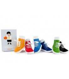Trumpette - Johnny Socks in OR - Fashion Best Baby Gifts, Baby Boy Gifts, Baby Boy Shower, Baby Shower Gifts, High Top Tennis Shoes, Designer Socks, Designer Baby, Baby Socks, Baby Boy Fashion