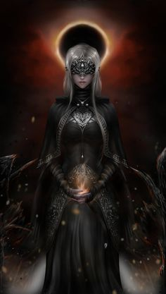 A commission fanart of the dark souls 3 firekeeper Fantasy Art Women, Beautiful Fantasy Art, Dark Fantasy Art, Fantasy Girl, Fantasy Artwork, Dark Art, Dark Souls 3, Arte Dark Souls, Arte Digital Fantasy