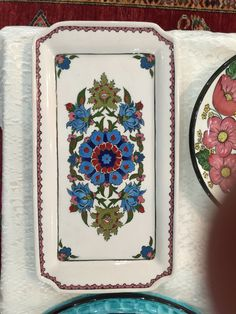 Metal Trays, Glazes For Pottery, Bbg, Decorative Items, Projects To Try, Embroidery, Painting, Design, Home Decor