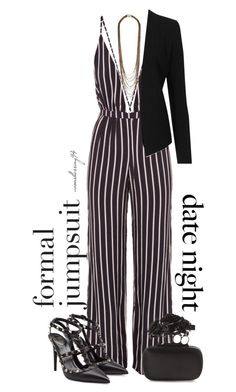 """""""Date Night: Jumpsuit Style"""" by avonsblessing94 ❤ liked on Polyvore featuring Faithfull the Brand, Alexander McQueen, Diane Von Furstenberg, Topshop, Valentino, women's clothing, women's fashion, women, female and woman"""