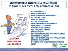 .: Currículo do MEC: pau, xota, cu e bunda para crian...
