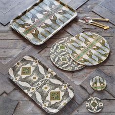 Delve into your adventurous side with our collection of unique Safari Tableware items. Vintage in style, this is a wonderful way to decorate your table and admire the beauty of these animals. Safari Adventure, Soft Furnishings, Birch, Graham, Giraffe, Coasters, Tray, Tableware, Outdoor Decor