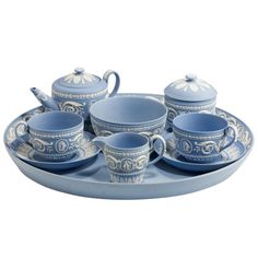 Antique Wedgwood Set | From a unique collection of antique and modern more dining and entertaining at http://www.1stdibs.com/furniture/dining-entertaining/more-dining-entertaining/