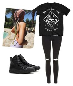 """Untitled #50"" by caballerobianca123 on Polyvore featuring Topshop and Converse"