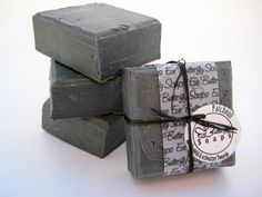 """Natural Handmade Soap """"Patchouli"""" (with black Clay Illit & essential Patchouli Oil)"""