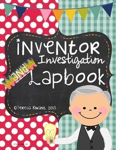 This is a great research project to use with your students while studying inventors. To introduce your students to inventors, they can research about Alexander Graham Bell, Thomas Edison, Henry Ford, Benjamin Franklin, Eli Whitney, and the Wright Brothers using the graphic organizers provided in this product.