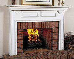Williamson Mantel - Traditional Wood Fireplace Mantel Surround - Starting at just $643. http://www.mantelsdirect.com/williamson.html
