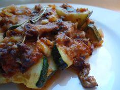 LCHF-bloggen: Kjøttdeig- og squashgrateng
