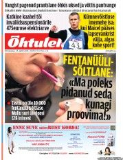 Õhtuleht is the second largest daily newspaper in Estonia, with approximately 242,000 readers. Õhtuleht is a tabloid newspaper. The newspaper is published in the Estonian language.