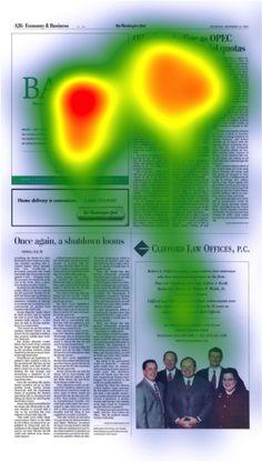 Balch Eye Track Testing - law firm marketing print advertisement Fishman Marketing