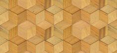 Blog da Revestir.com Linha Mosaicci Sustentável , Nina Martinelli, com sobras de madeira, efeito 3D