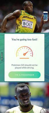 Usain Bolt To Fast