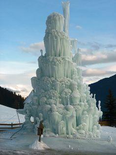 Ice Fountain.