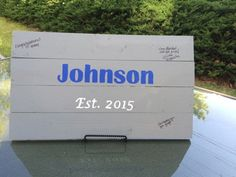 Alternative Wedding Guest Book OR by KnoeckTheDotCrafts on Etsy