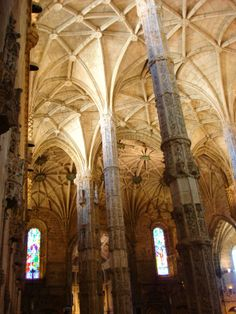 Lisbon - Inside Jeronimos Monastery (by JP)