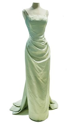 Evening gown, 1955. Designed by Edith Head for Grace Kelly