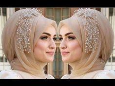 Simple hijab styles i chiffon hijab, Easy Hijab Style, Hijab Style Tutorial, Simple Hijab, Hijab Chic, Turban Tutorial, Turban Hijab, Hijab Dress, Bridal Hijab Styles, Hijab Wedding Dresses