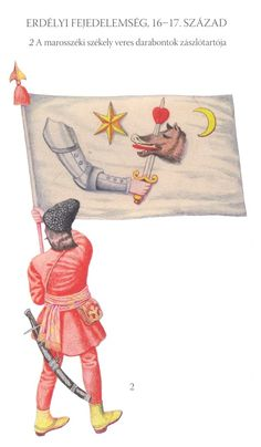 Szekler infantry standard bearer, 17th century Thirty Years' War, Nautical Flags, Moldova, Central Europe, American Revolution, Eastern Europe, Middle Ages, 17th Century, Warfare