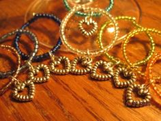 Wine Glass Ring charms by annettesexpressions on Etsy, $8.00