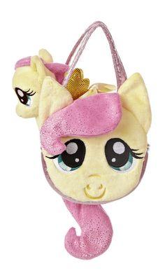 My Little Pony Friendship Magic Fluttershy Pony Tail Bag with Plush Pony 15528