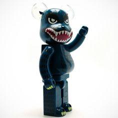400% Godzilla BE@RBRICK by Medicom #Collectible, #Figurine, #Giant, #Toy