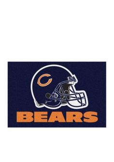 Fanmats  Nfl Chicago Bears Starter Mat - Blue - One Size