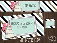 kit Elo7 festas (BAZAR)